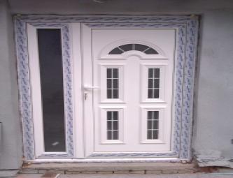 PVC ulazna vrata dvokrilna